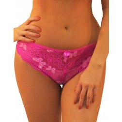 BUTTERFLY LACE CHEEKY PANTY