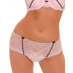 LACEY TUXEDO BOW HIGH-WAIST PANTY